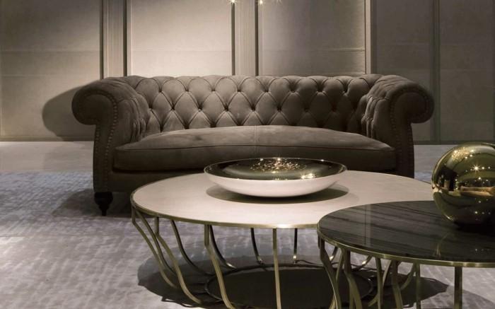 baxter sofa diana chester couch runder couchtisch