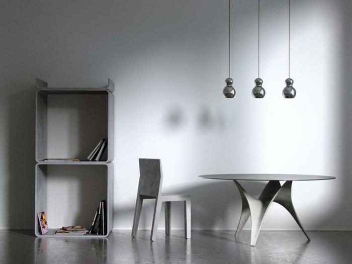 beton design beton möbel selber machen einrichtugnsbeispiele grau