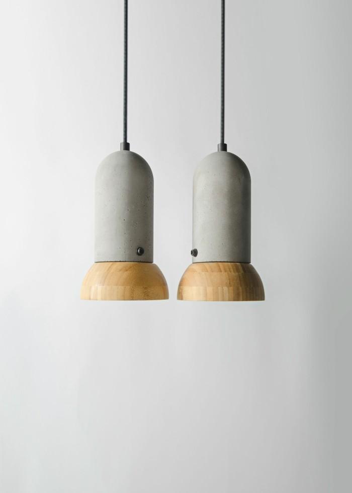 beton design beton möbel selber machen einrichtugnsbeispiele leuchtobjekte