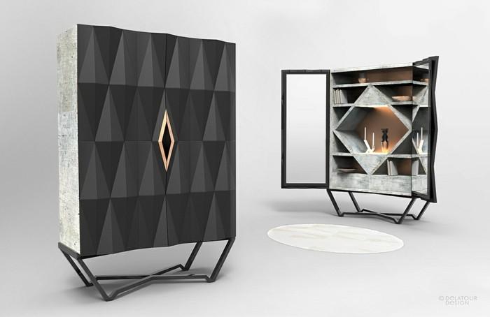 beton design beton möbel selber machen einrichtugnsbeispiele modern