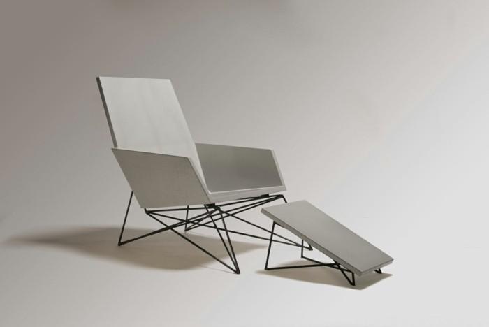 beton design beton möbel selber machen einrichtugnsbeispiele sessel