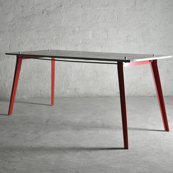 beton design beton möbel selber machen einrichtugnsbeispiele tisch