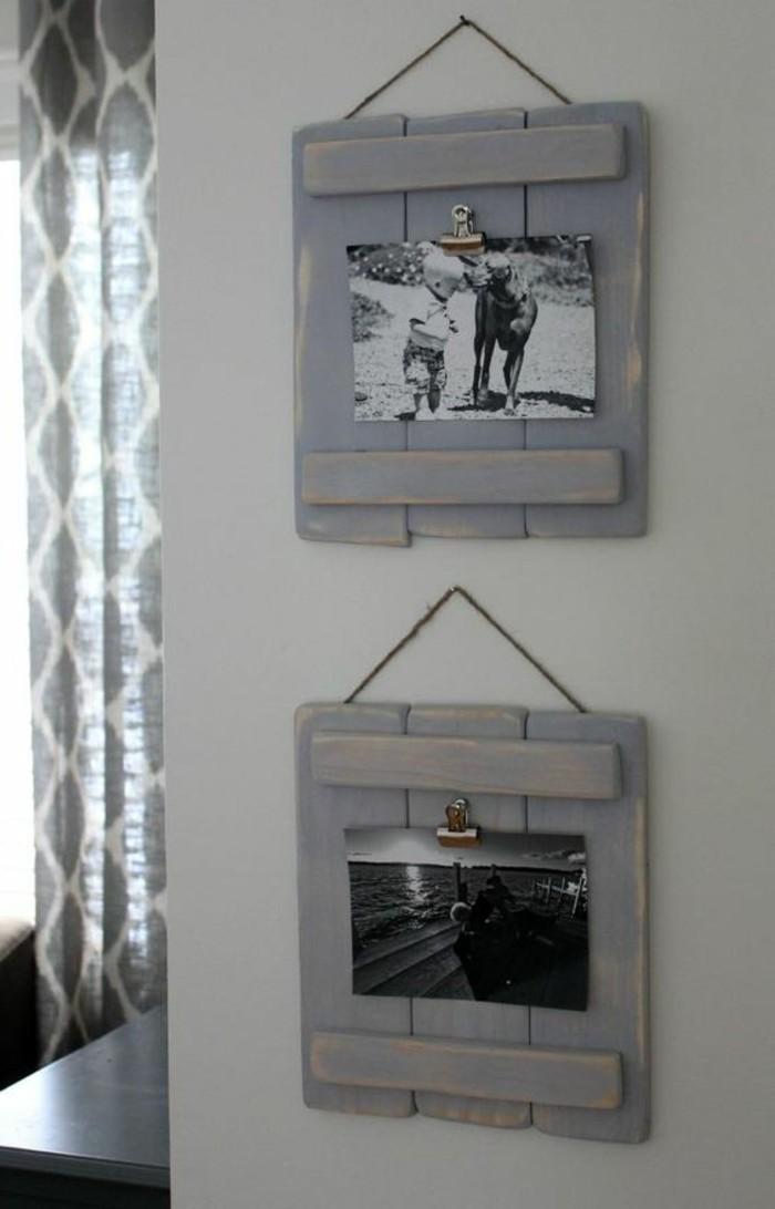 bilderrahmen selber machen 22 kreative diy ideen f r die wohnungsdekoration. Black Bedroom Furniture Sets. Home Design Ideas