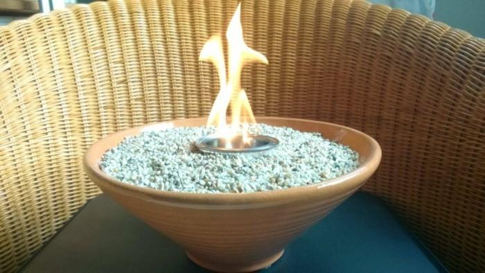 bio ethanol kamin einrichtungsbeispiele wohnideen diy ideen deko ideen natürholz selbst tischkamin