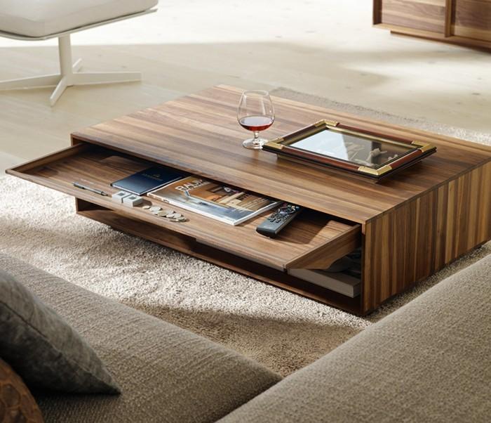 Couchtisch modernes design  Couchtisch mit Schublade - Nicht nur auf schönes Design, sondern ...