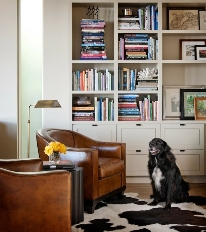 Ausgefallene Wohnideen Wohnzimmer wohnung dekorieren 65 ausgefallene dekoideen wie sie bücher ins