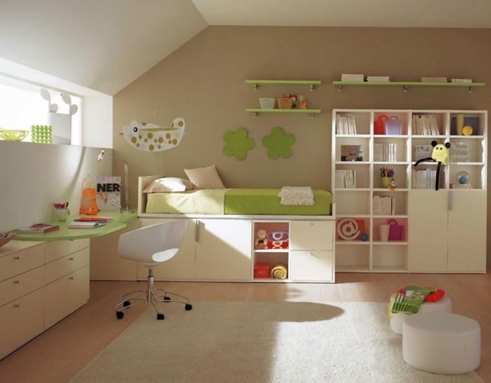 Teppich Babyzimmer Beige Dekoration | 50 Deko Ideen Kinderzimmer Reichtum An Farben Motiven Und Ideen