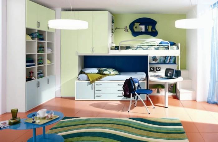 deko ideen kinderzimmer modernes innendesign teppichmuster bodenfliesen