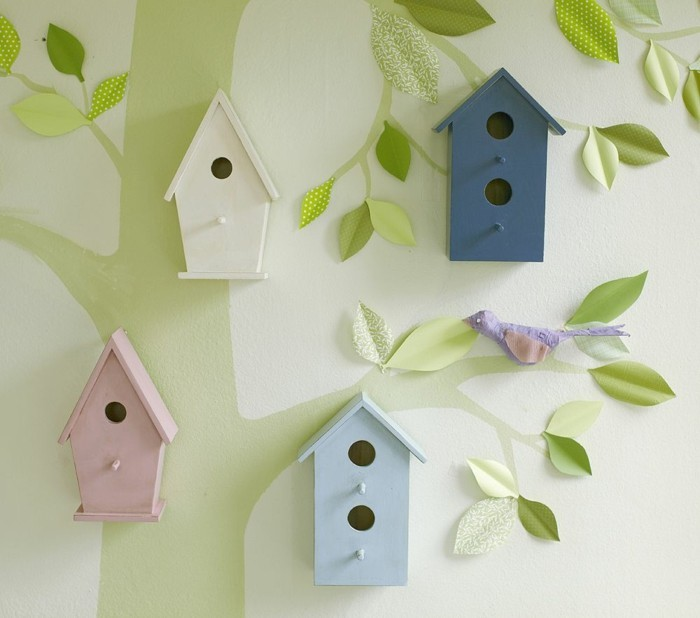 50 deko ideen kinderzimmer - reichtum an farben, motiven und ideen, Schlafzimmer design