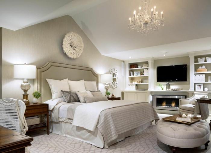 77 deko ideen schlafzimmer für einen harmonischen und ... - Wanddeko Schlafzimmer
