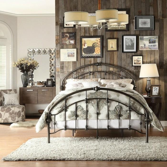 77 deko ideen schlafzimmer f r einen harmonischen und einzigartigen schlafbereich - Schlafzimmer vintage ...