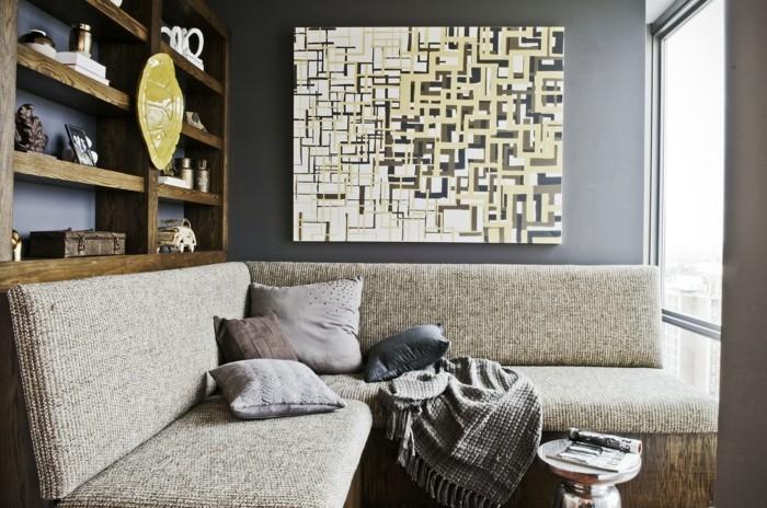 wandbilder wohnzimmer - 50 ideen, wie sie die wohnzimmerwände mit, Wohnzimmer