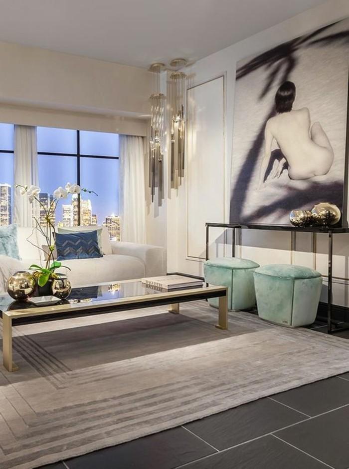 Elegante designer couchtische mit retro touch von fendi casa for Marmortisch couchtische