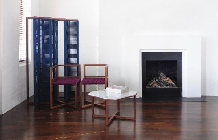 designer möbel holzmöbel hocher paravent parkett eiche