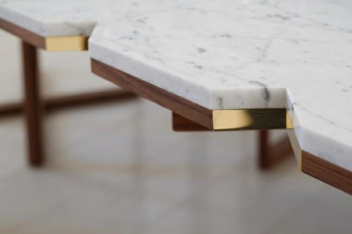 designer möbel holzmöbel marmor tischplatte