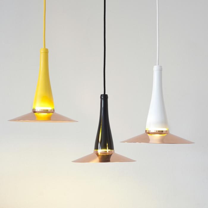 diy lampe flaschen ausgefallene hängelampen