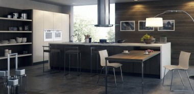 dunkles-Küchendesign-Kücheneinrichtungen-für-Männer