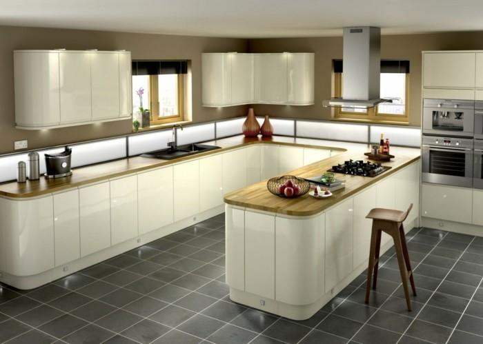 einbauküche kücheneinrichtung modernes innendesign