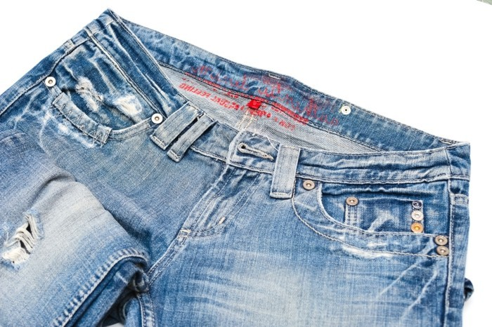 einfache bastelideen alte jeans neue sachen basteln