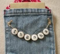 30 Einfache Bastelideen mit Jeans, die Sie inspirieren