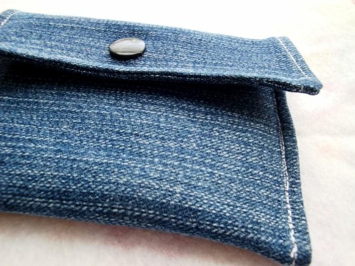 einfache bastelideen portemonnaie alte jeans
