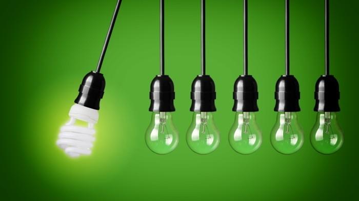 energieeffizienz nachhaltig leben grühbirnen