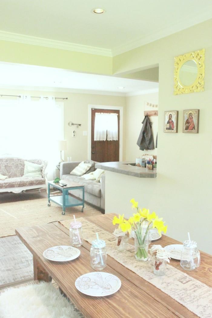 esszimmer im landhausstil einrichten home design inspiration und m bel ideen. Black Bedroom Furniture Sets. Home Design Ideas