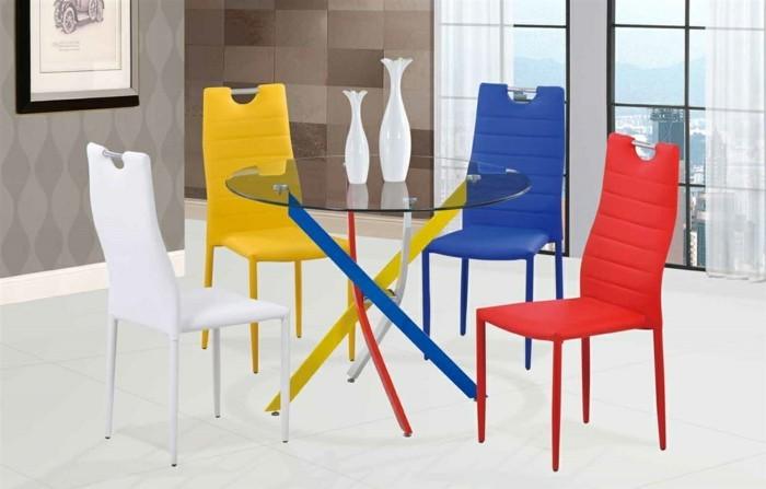 esszimmerstühle wohnideen einrichtungsbeispiele deko ideen nachhaltige mode bauhaus