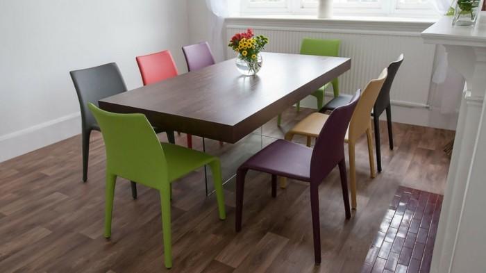 Esszimmerstühle bunt  Gegenwärtiges Design trifft bunte Esszimmerstühle