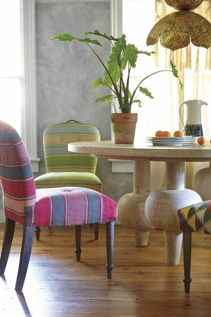 esszimmerstühle wohnideen einrichtungsbeispiele deko ideen nachhaltige mode freundlich