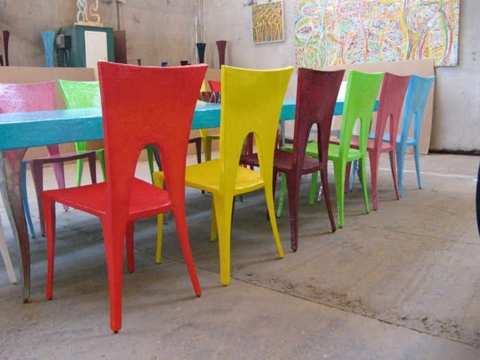 esszimmerstühle wohnideen einrichtungsbeispiele deko ideen nachhaltige mode modern