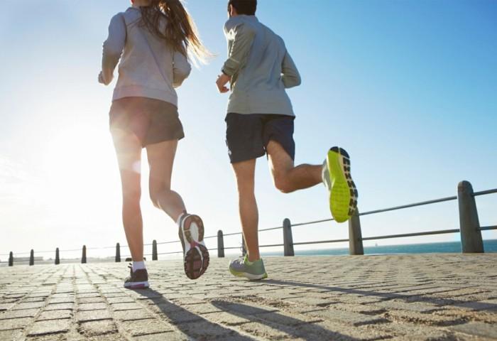 fett verbrennen jogging machen