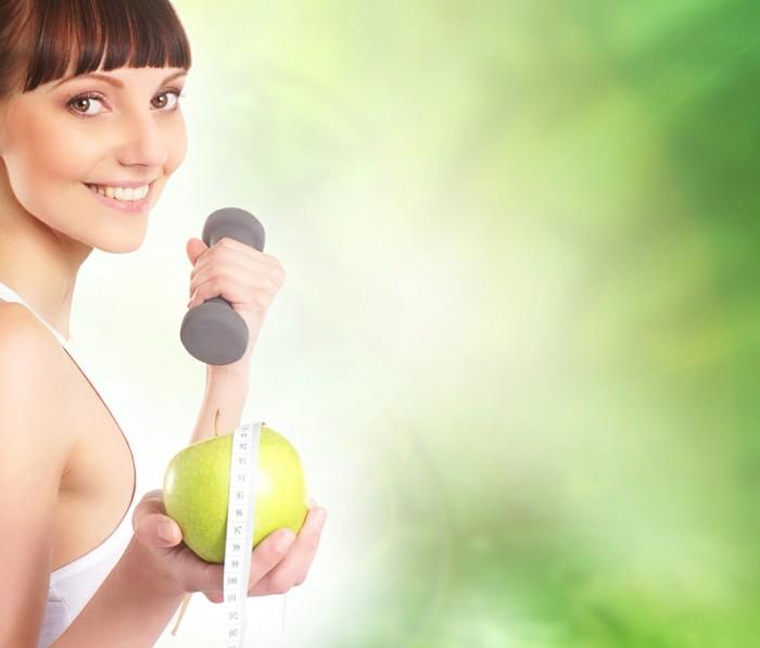 fett verbrennen sport treiben gesund essen