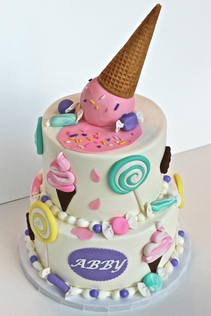 fondant torte herz torte mit fondant rezept pink witzig