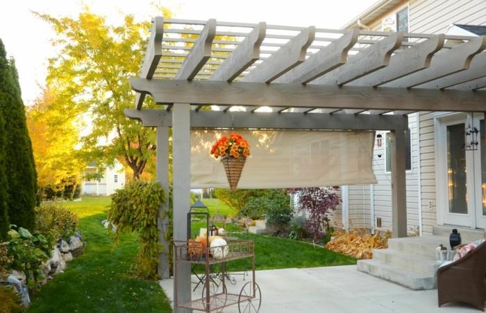 Garten Überdachung als eine Voraussetzung für schöne Zeit im ...