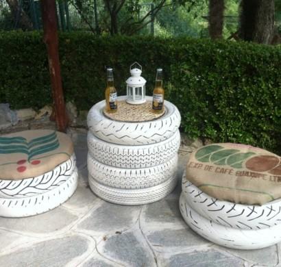 Favorit Gartenmöbel selber bauen - originelle DIY Ideen für Ihre grüne Oase DE33
