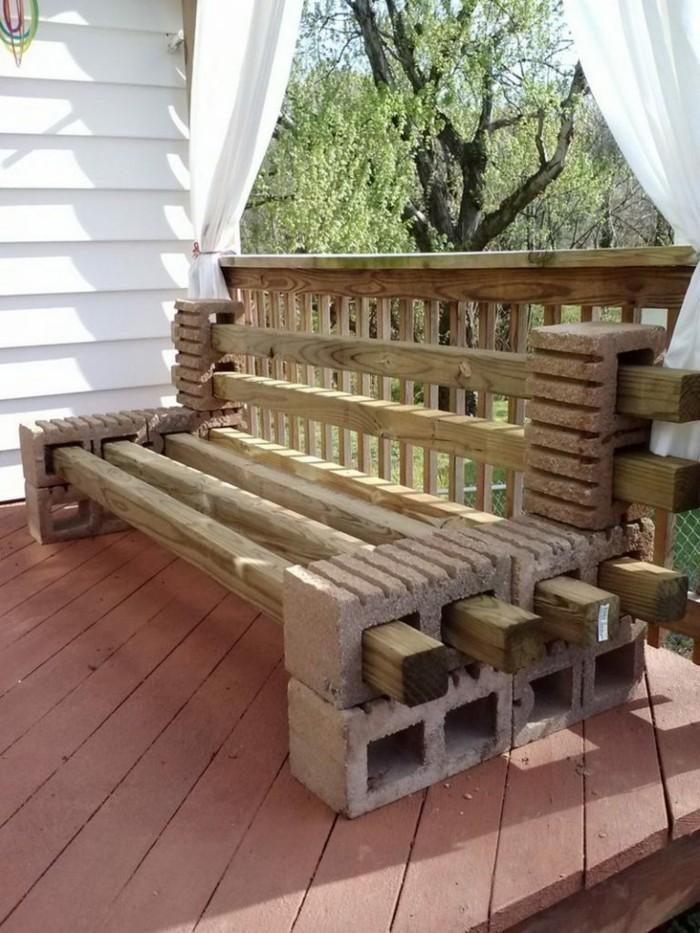 Es ist nicht gerade kinderleicht, die Gartenmöbel selber zu bauen