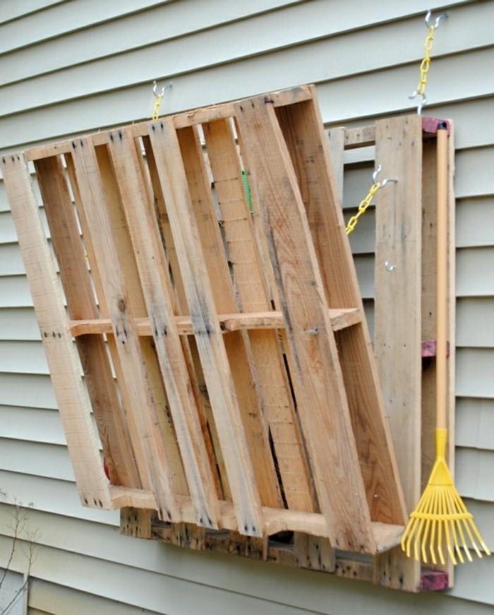 Gartenmobel Holz Lasur : Gartenmöbel selber bauen – Paletten eignen sich perfekt für den