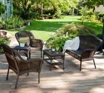 Durch Gartensessel Rattan die Urlaubsstimmung in den eigenen Garten bringen