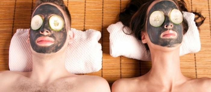gesichtsmasken detox hautpflege diy masken gurken