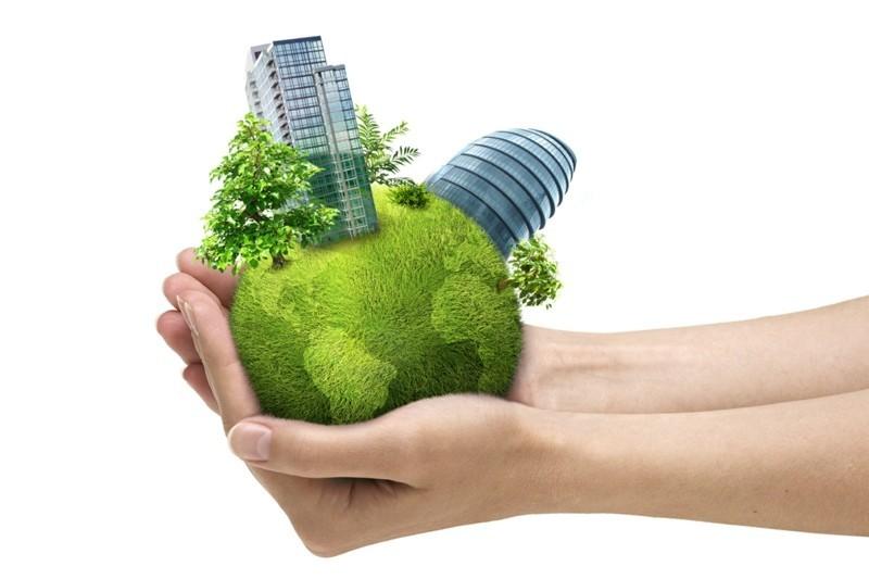 gesundes Leben Bauen und Leben nachhaltig leben