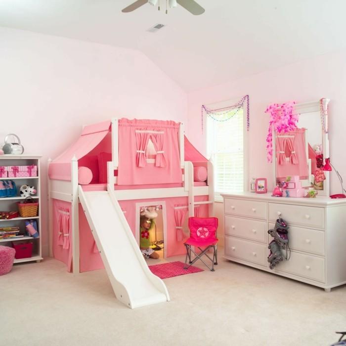 hochbett mit rutsche spielparadies im eigenen kinderzimmer. Black Bedroom Furniture Sets. Home Design Ideas