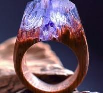 Magischer Holzschmuck – handgemachte Ringe von Secret Wood