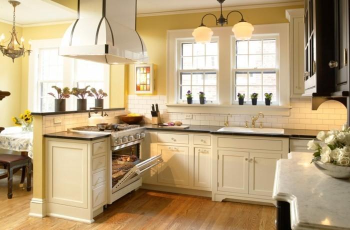 Küche streichen Ideen - 43 Vorschläge, wie Sie eine cremefarbige ...