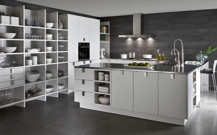 küchendesign küchen einbauküche siematic moderne kücheneinrichtung weiß grau