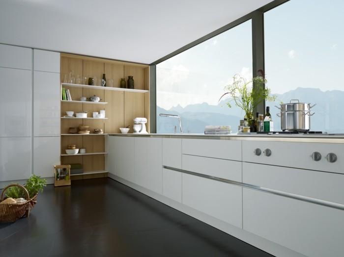 küchenplanung küchen einbauküche weiße küchenschränke moderne kücheneinrichtung