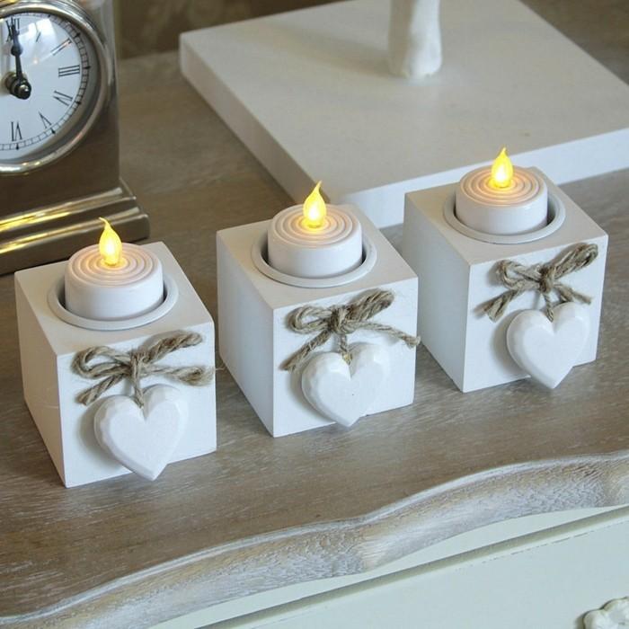 Kerzenhalter basteln - 35 Beispiele, dass Kerzenhalter ...