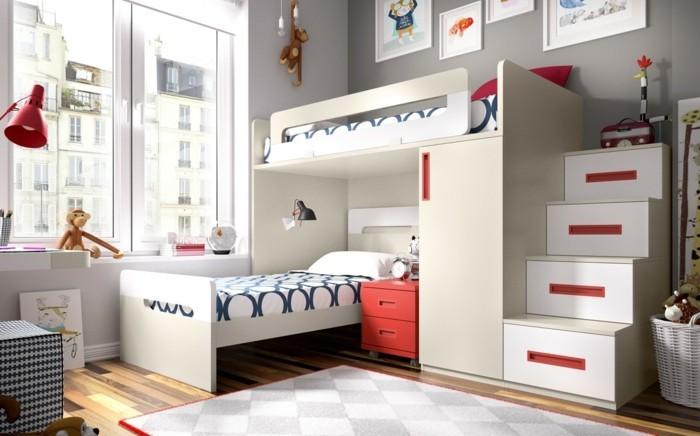 Etagenbett Mit Schrank : Hochbett mit schrank funktionale kinderhochbetten welche