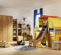 Hochbett mit Rutsche – Spielparadies im eigenen Kinderzimmer!