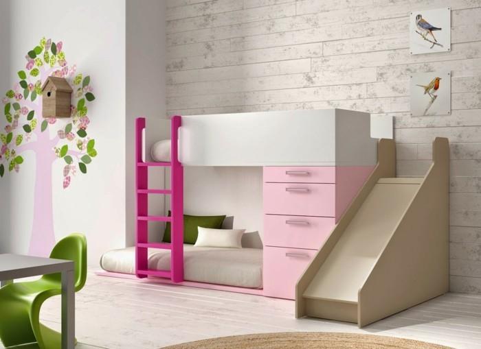 Kinderhochbett design  Hochbett mit Rutsche - Spielparadies im eigenen Kinderzimmer!